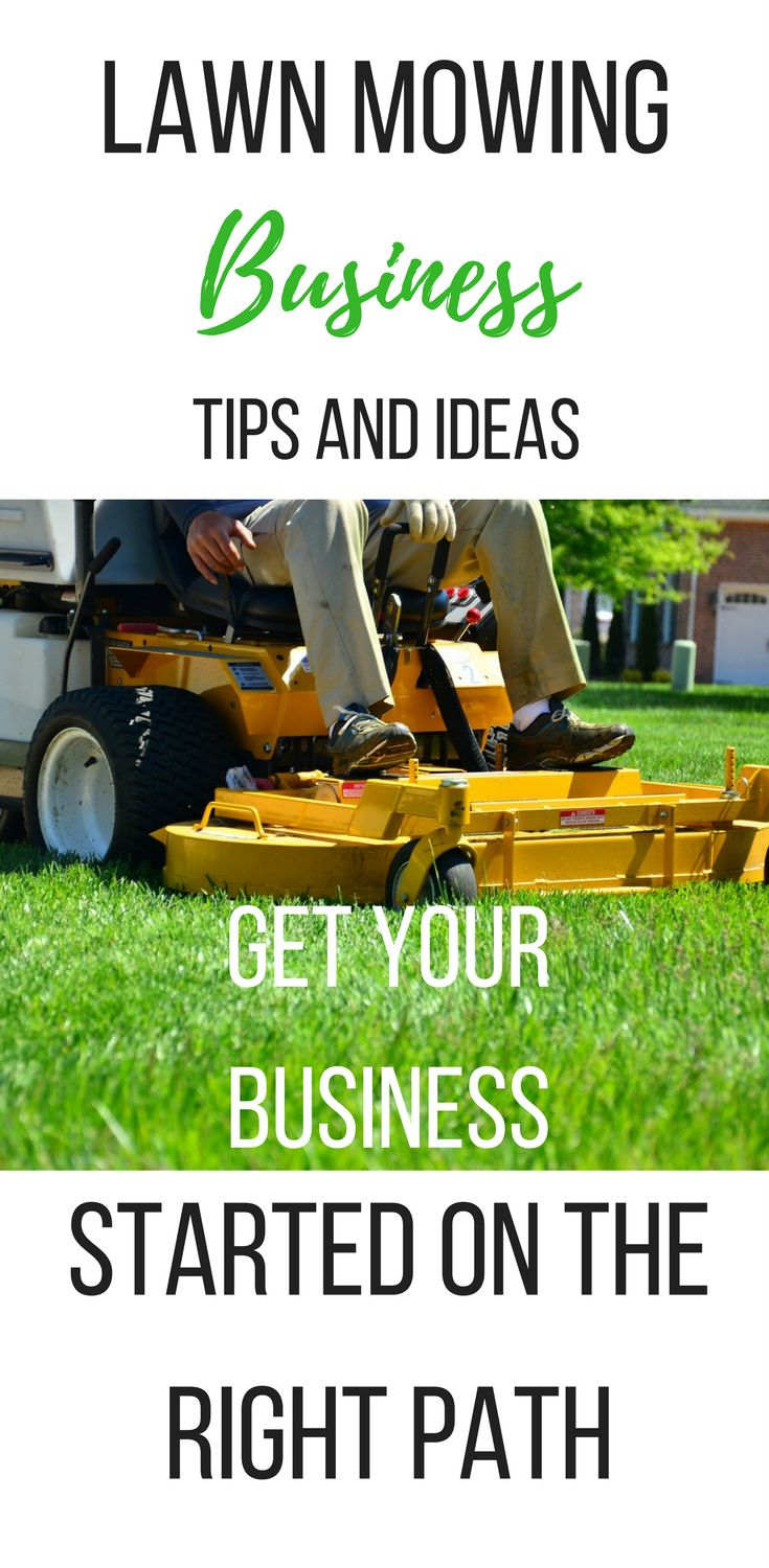 25  best ideas about lawn mowing business on pinterest