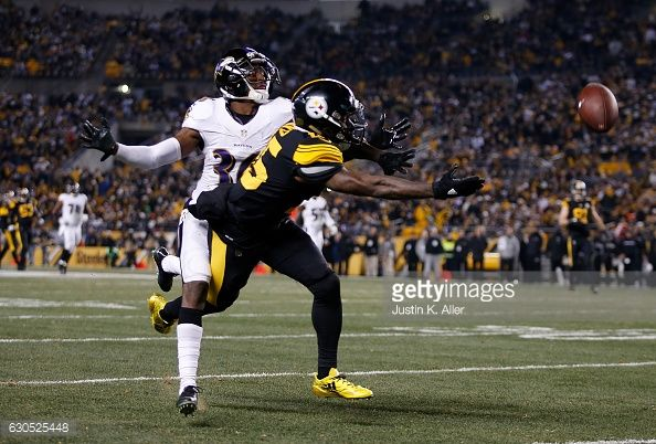 News Photo : Demarcus Ayers of the Pittsburgh Steelers cannot...
