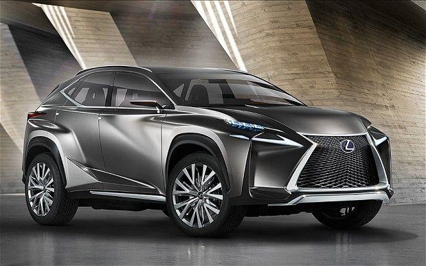 Lexus LF-NX concept car