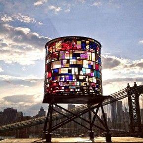 Beautiful water tower