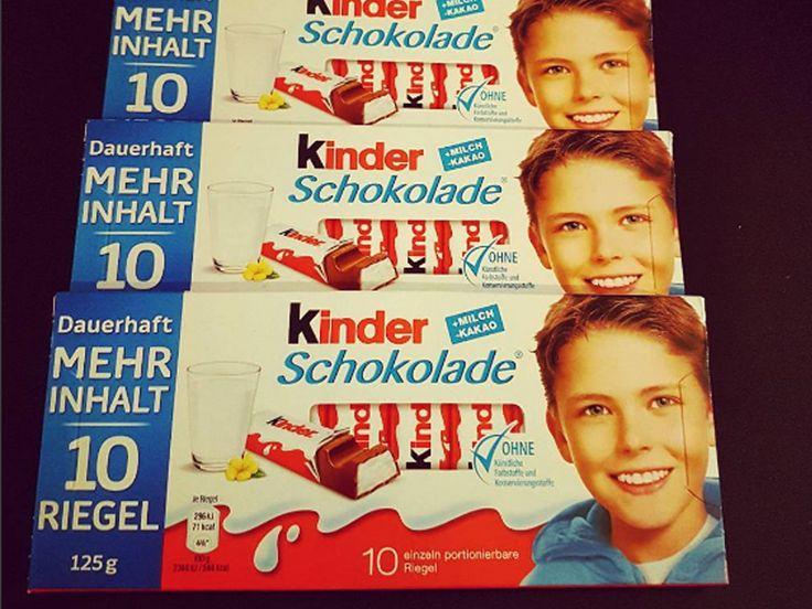 So sieht der Kinderschokolade-Junge nicht mehr aus - heute ist er total hot!