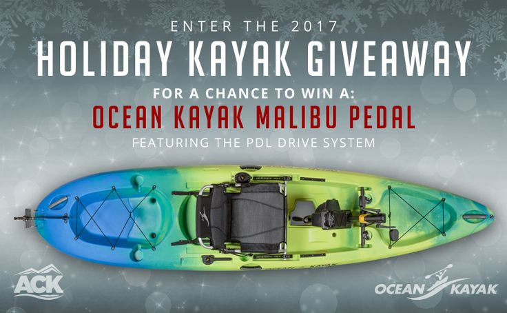 This Holiday season, ACK has partnered with Ocean Kayak to spread some adventurous holiday cheer! Simply sign up with your email, like the Austin Kayak page on Facebook, and you will be entered to win