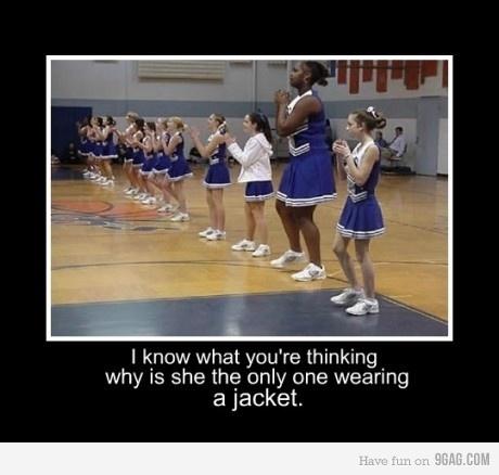 hahaha: Thoughts, Balance Beams, Cheerleading, That Girls, Giggles, Jackets, Funny Stuff, Humor, Big Girls