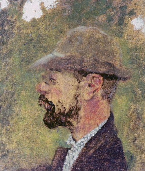 Portrait of Henri de Toulouse-Lautrec (1864-1901) c.1897-98 (oil on canvas), Vuillard, Edouard