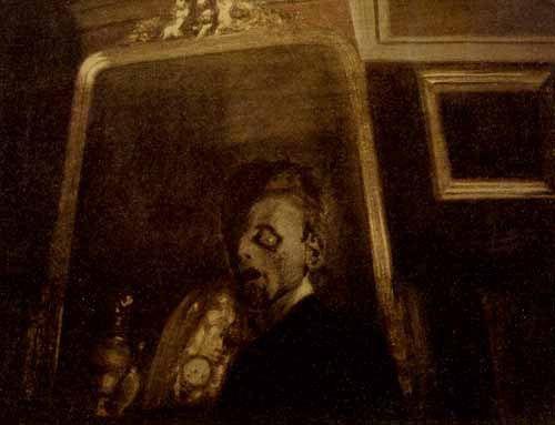 17 best images about l on spilliaert on pinterest for Autoportrait miroir
