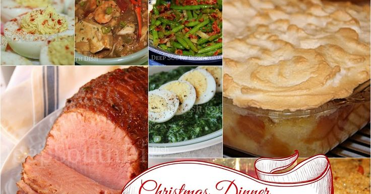 A Southern Christmas menu and collection of Christmas recipes, all from DeepSouthDish.com.  In my extended Southern family, Christmas dinn...