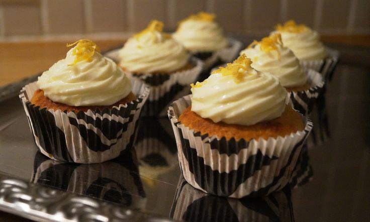 LCHF citron muffins