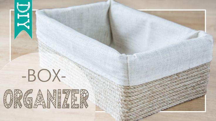 ★ DIY ★ Handmade organizer box | Home decor