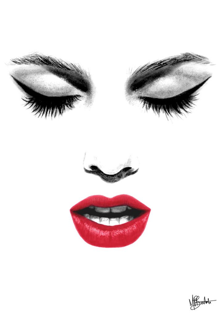 Lips Sketch - Google Search | Black Art | Pinterest | Lips Sketch Lips And Sketches