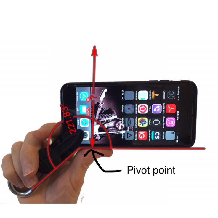 A unique smartphone accessory device to help you hold and secure your phone
