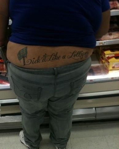 The most horrible tattoos - Los tatuajes mas horribles: Tattoo Ideas, Tattoo Fails, Funny Things, Bad Tattoos, Epic Fails, Tattoo'S, Funny Stuff, Funny Tattoo, Lollipops