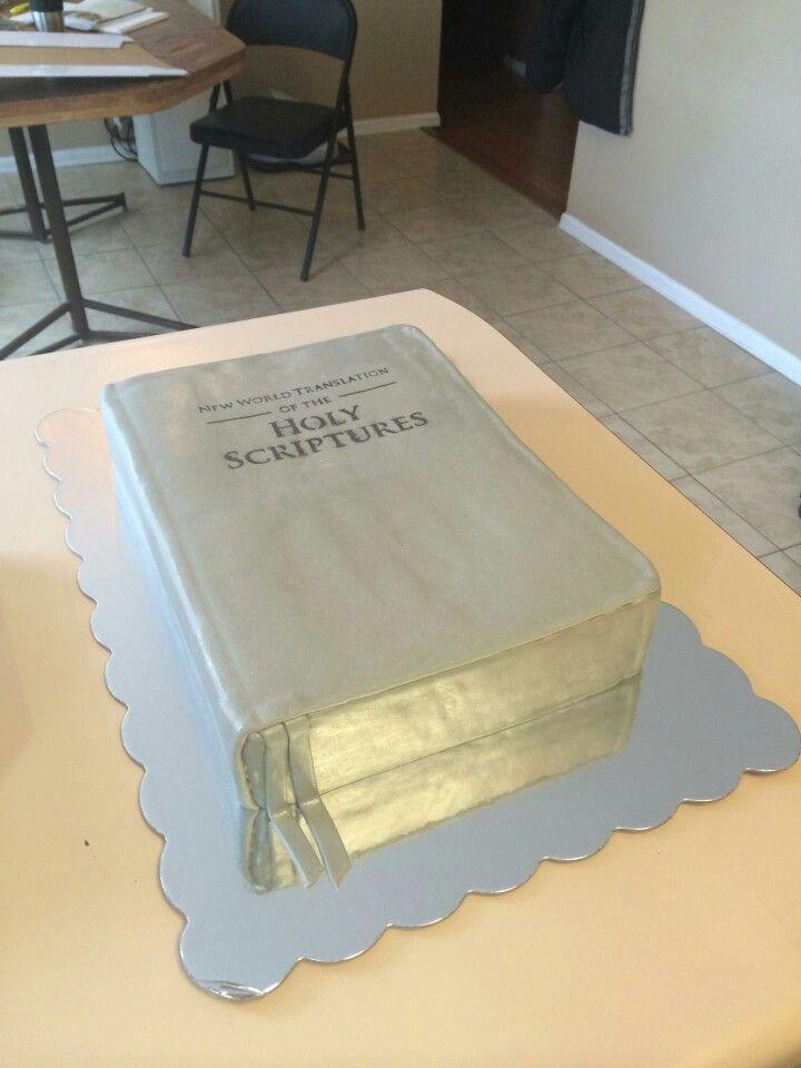 New world translation bible cake