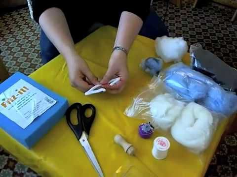 You Tube video- how to make a Waldorf needle felted fairy. (For Tiptoes)