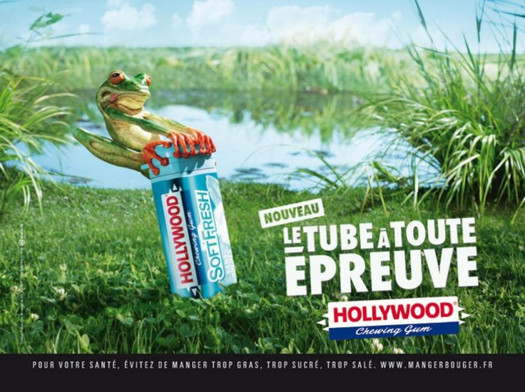 Hollywood chewing gum - Hollywood tube