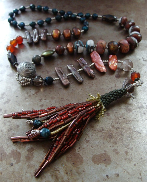 Art Deco Lily - a class on Bead Cruise 2013!Beads Dangle, Beads Beads Beads Beads Beads, Beads Necklaces, Seeds Beads, Beads Cruises, Seed Beads, Beads Jewelry, Beads Wire, Beads Ideas