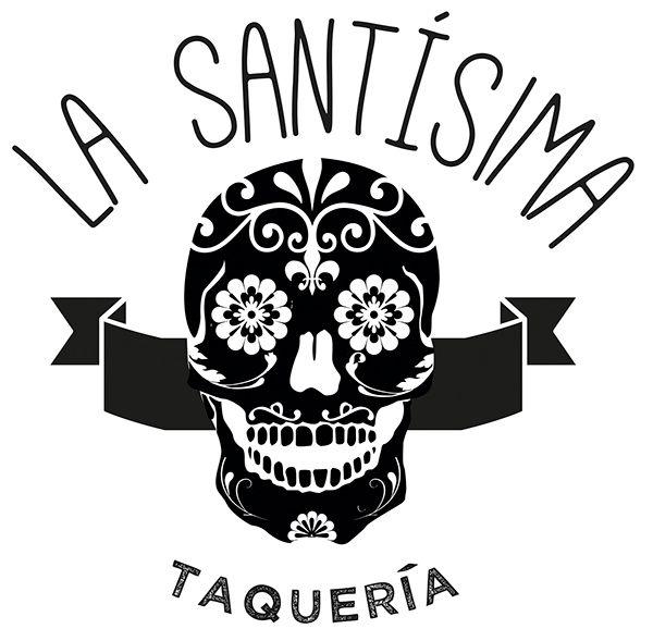 """Logo """"La Santísima Taquería"""""""