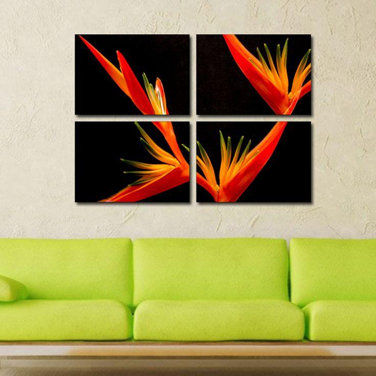 #Tablouri_Canvas din 4 piese: 4 buc. 35 x 50 cm.Suprafata Totala 100 x 73 cm