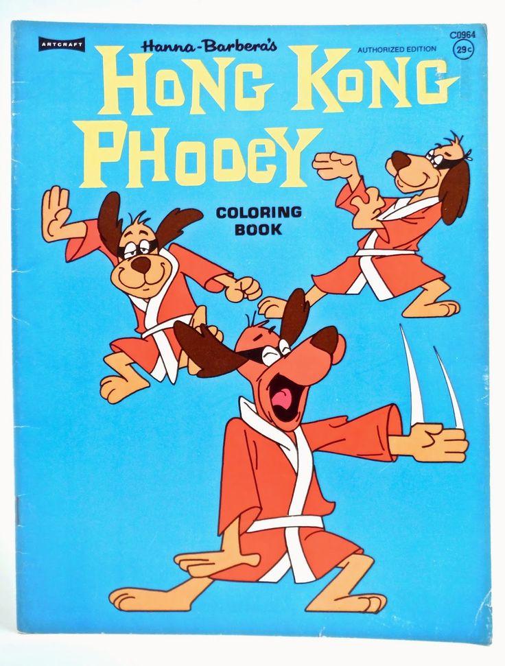 Hong Kong Phooey Coloring Book