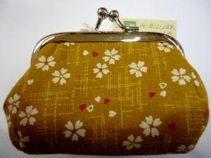 がま口小 Small-size coin purse
