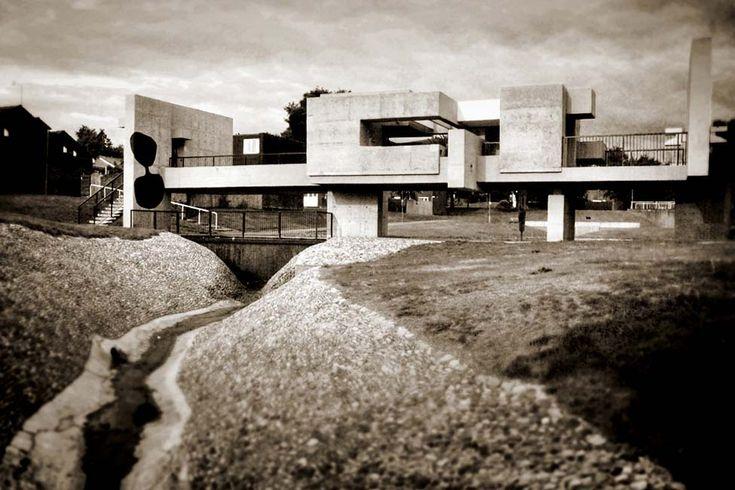 Victor Pasmore Pavillion 1969. Peterlee