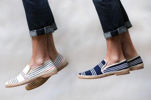 urbanemenswear:    Thesen.d.c. Pablo Artesa Canvas Espadrilles are great light shoes for the spring/summerBoats Shoes, Tom Shoes, Men Style, Men Fashion, Canvas, Men Footwear, Men Shoes, Style Blog, Men Outfit