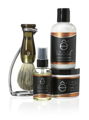 50% OFF eShave 4-Piece Collection with Twist Stand in Orange Sandalwood Scent, Smoke