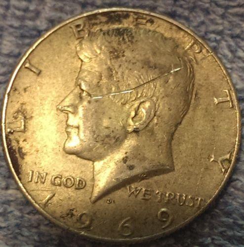 1969 D Kennedy Half Dollar Rare Silver Coins Collecting 50