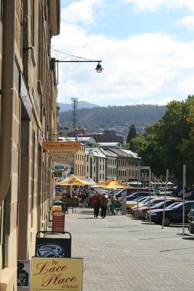 Salamanca Place, Hobart, Tasmania, Australia - © CKoenig