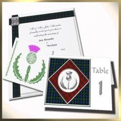 scottish theme wedding | Scottish Themed Weddings - Info, Invitations and Accessories
