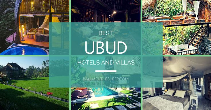 21 superb places to stay in Ubud that recharge your soul - Ubud hotels & villas
