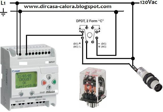 Como conectar un Sensor de Dos Hilos AC ~ #DIRCASA - Proveedor Industrial