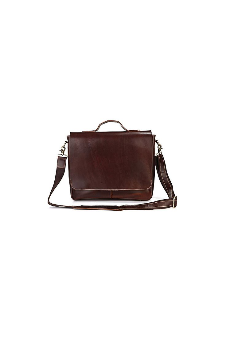 The Hornbeam Messenger Bag – A classic messenger bag made from genuine cow leather.
