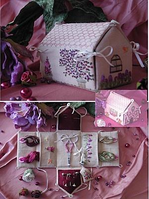 house needlework box