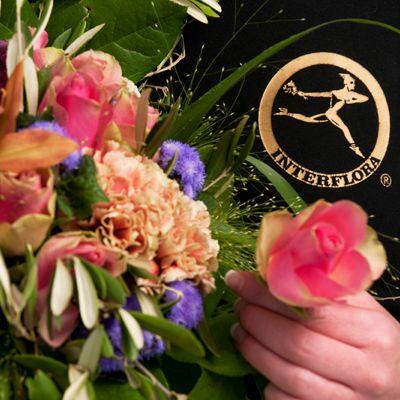 Gratulasjonsbukett satt sammmen av sesongens blomster fra Interflora. Om denne nettbutikken: http://nettbutikknytt.no/interflora-no/