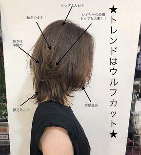 中島直樹 ウルフカット レイヤーカット ショートヘア On Instagram 大人気のウルフボブ 重ためのスタイルに飽きた トップにボリュームがほしい方 動きがしっかりほしい方 ナカシウルフ は モードっぽくなりすぎたり カジュア