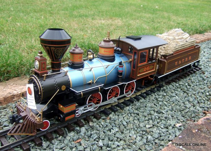 bachmann g scale complete ready to run silverado passenger train set light smoke 90050 g scale. Black Bedroom Furniture Sets. Home Design Ideas