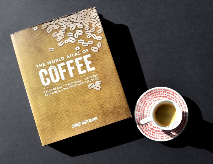A perfect morning with Kapucziner coffee and a new book about coffee