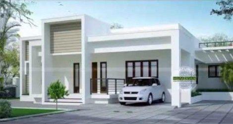 singlex house design | Modern house exterior, Bungalow ...