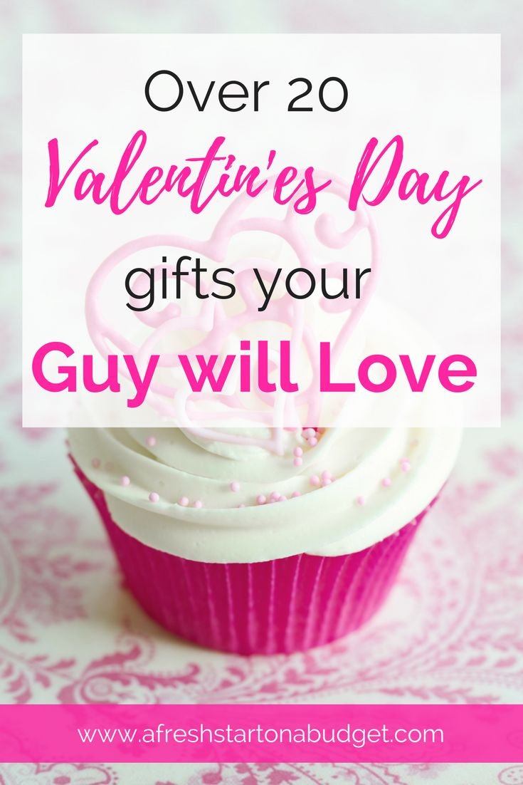 Since men can sometimes be hard to shop for and come up with ideas for the Holidays. Here are some Valentine's day gifts your man will love