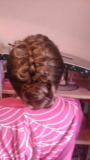 Braided bow braid