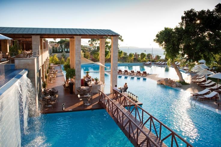 Animatorės Lauros namai #summer2014 #animatoriai #stageman  The pool at the stunning Amathus Beach Hotel in Rhodes