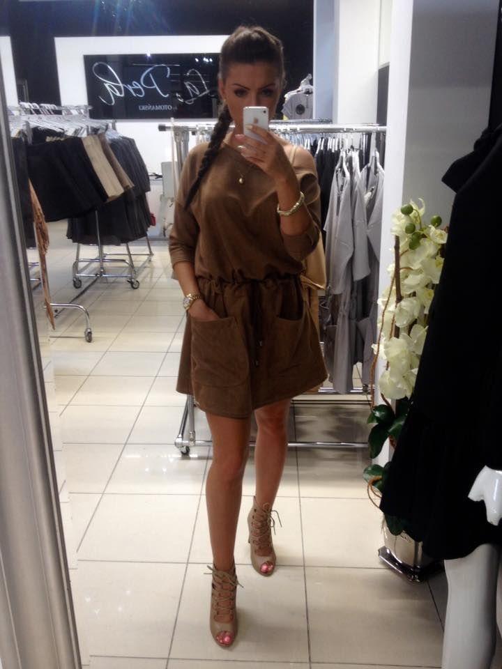 chocolate dress <3