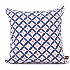 Nala Pillow Case - Willow Wishes Blue & Red