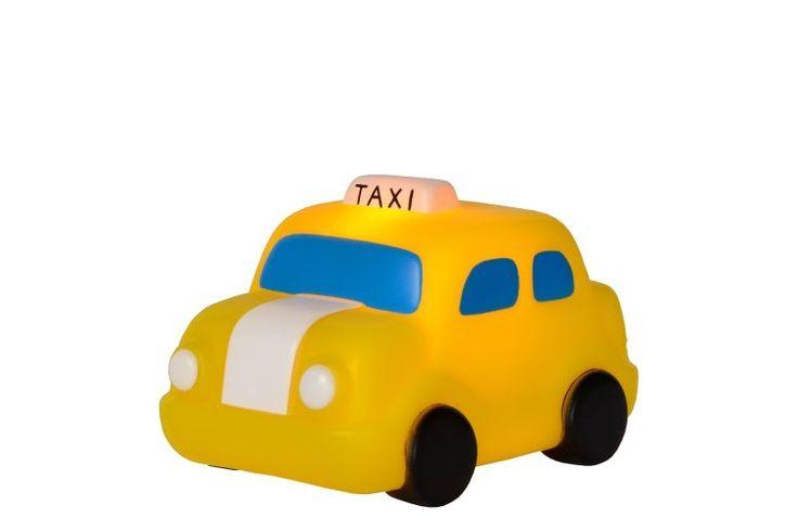 Tafellamp Taxi LED 1L Geel H8 cm 71559/21/34 - Kinderlampen