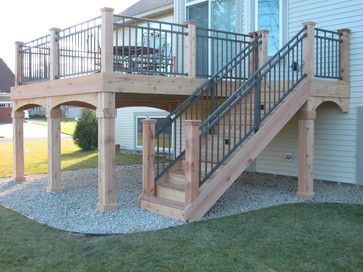 Deck Cedar Design Ideas, Pictures, Remodel, and Decor - page 2