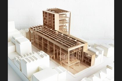 WINNER: Herzog & de Meuron's victorious proposal for a £108 million expansion of the RCA's campus at Battersea