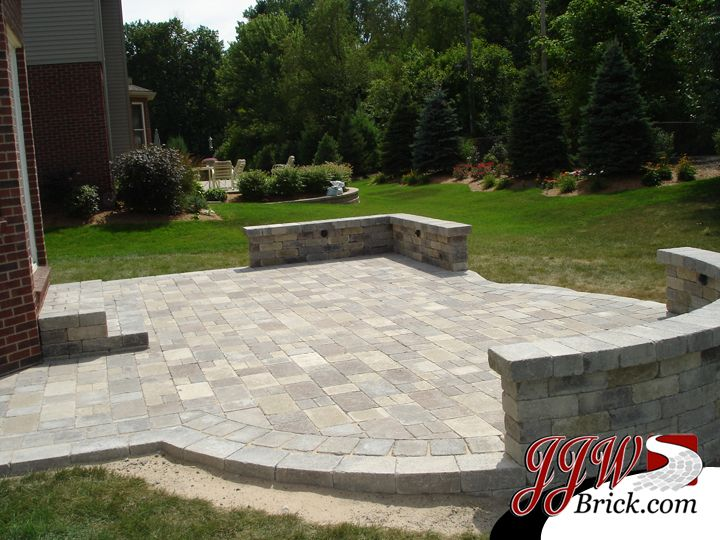 Beautiful 27 Best Stone Patio Paver/Firepit Designs Images On Pinterest | Stone Patios,  Patio Ideas And Backyard Ideas