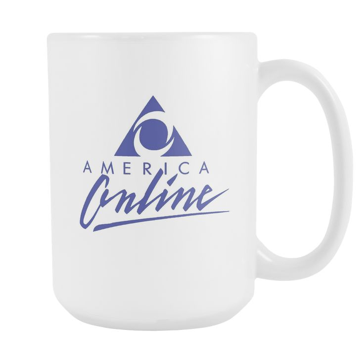 America Online Coffee Cup