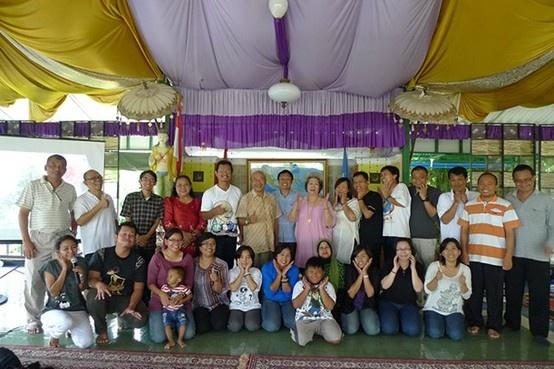 22 Februari 2013, program retreat FEAR Management yang di selanggarakan oleh One Earth Pusat Meditasi dan penyembuhan holistik.