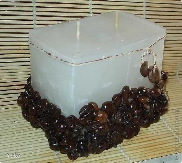 Кофейная свеча - Не определена -  - мастер класс фото